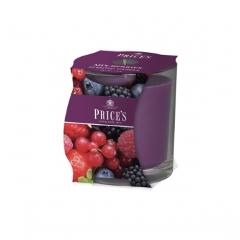 "Duftkerze ""Jar"" Mixed Berries von Price's Candles"