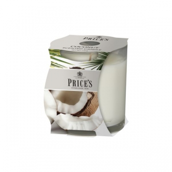 "Duftkerze ""JAR"" Coconut von Price's Candles"