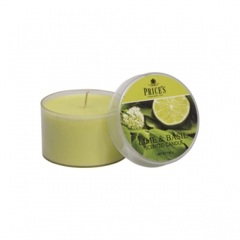 "Duftkerze ""TIN"" Lime & Basil von Price's Candles"
