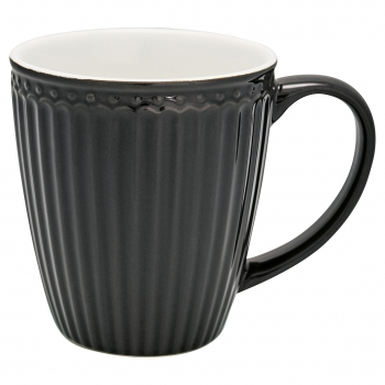 "Tasse ""Alice dark grey"" von Greengate"