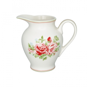 "Creamer ""Mary white"" round von Greengate"