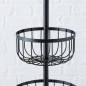 "Preview: Etagere ""Cobo"" schwarz"