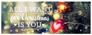 "Karte ""Weihnachten"" All I want is you"