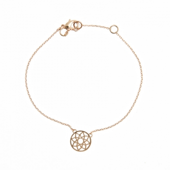 Kette Mandala rose gold